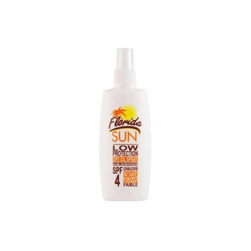 Florida Sun 200ml SPF4 Low Protection Dry Oil Spray