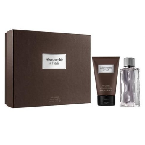 Abercrombie & Fitch First Instinct Gift Set - 50ml EDT Spray + 100ml Hair & Body Wash