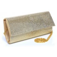 Unze Accessories Evening Bags - Gold