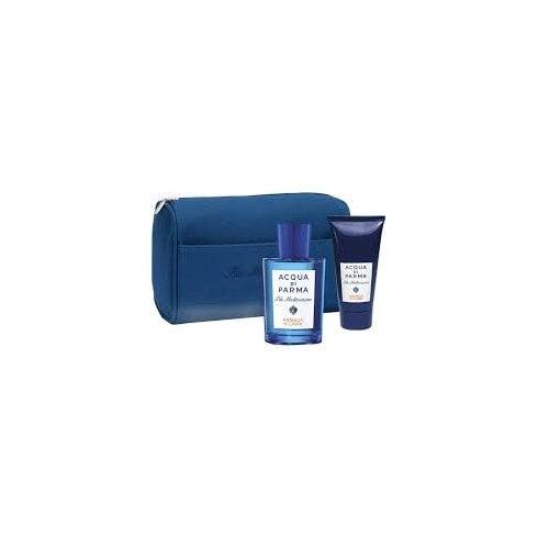 Acqua di Parma Blu Mediterraneo Bergamotto Di Calabria Set EDT 150ml +S/G 75ml +  Bag