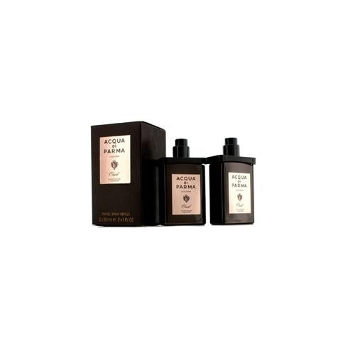 Acqua di Parma Oud Gift Set 2x 30ml EDC Travel Refill