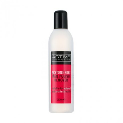 Active Nail Polish Remover Acetone Free 250ml