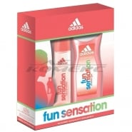 Adidas Fragrances Adidas Fun Sensation 75ml EDT + 250ml Showergel