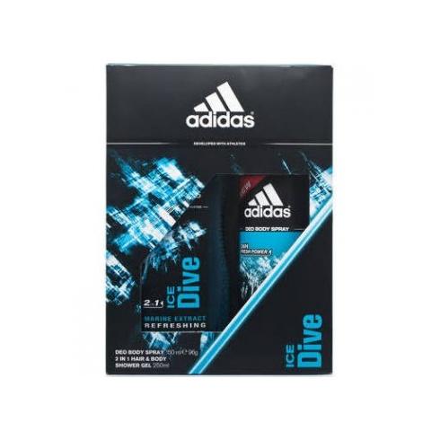 Adidas Fragrances Adidas Ice Dive 150ml Deo Body Spray / 250ml Shower Gel