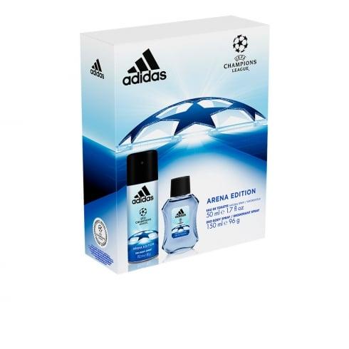 Adidas Fragrances Adidas Uefa Champions League Arena Eau De Toillete Spray 50ml Set 2 Pieces 2017