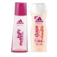 Adidas Fragrances Adidas Woman Fruity Rhythm Set 2 Pieces