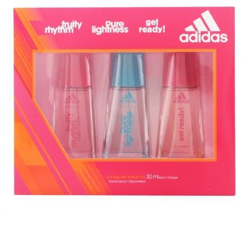 Adidas Fragrances Adidas Woman Multiline EDT Spray 30ml Set 3 Pieces 2017
