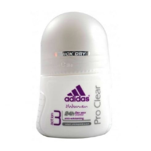 Adidas Fragrances Adidas Woman Pro Clear Deodorant Roll On 50ml