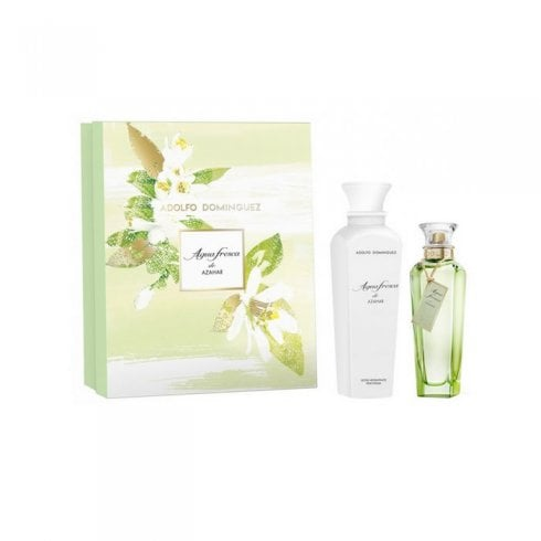 Adolfo Dominguez Adolfo D Azahar Set Woman EDT 125ml+B/L 300ml