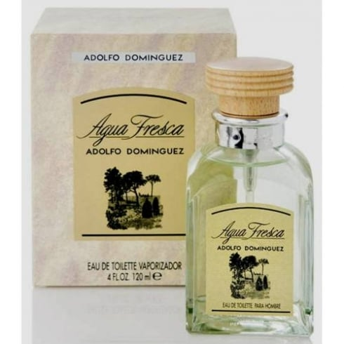 Adolfo Dominguez Agua Fresca Eau De Toilette Spray 120ml