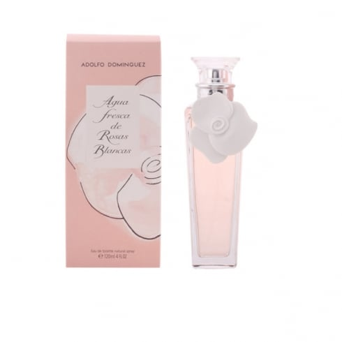Adolfo Dominguez Agua Fresca Rosas Blancas EDT Spray 120ml