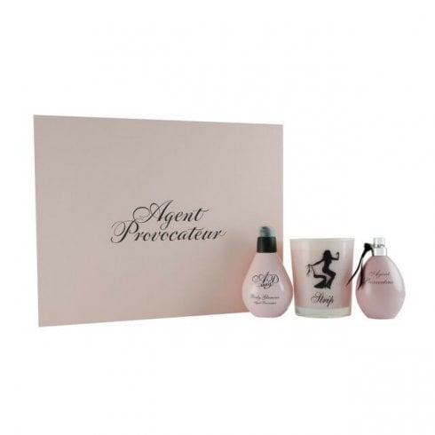 Agent Provocateur Ag EDP 50ml & Sauce Body Glamour 125ml & Candle