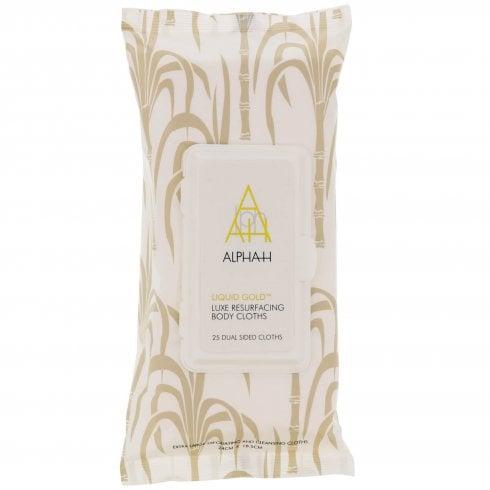 Alpha H Liquid Gold Body Cloths Luxe Resurfacing X 25