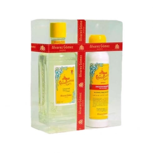 Alvarez Gomez Agua De Colonia Concentrada EDC 300ml Set 2 Pieces