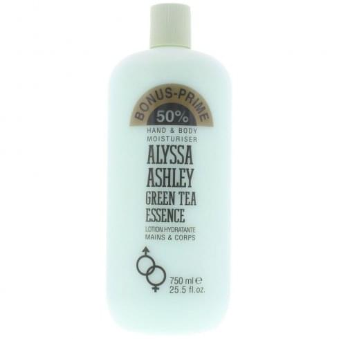 Alyssa Ashley Green Tea Essence Hand and Body Moisturiser 750ml
