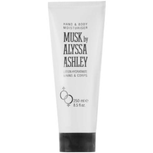 Alyssa Ashley White Musk Hand and Body Moisturiser 250ml