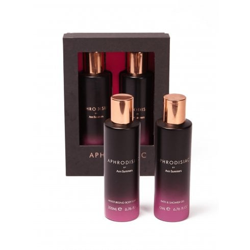 Ann Summers Aphrodisiac Bath Duo Gift Set 200ml Shower Gel + 200ml Body Lotion
