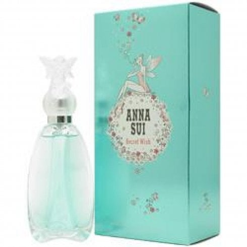 Anna Sui Secret Wish EDT 50ml 10ml Rollerball & Pouch