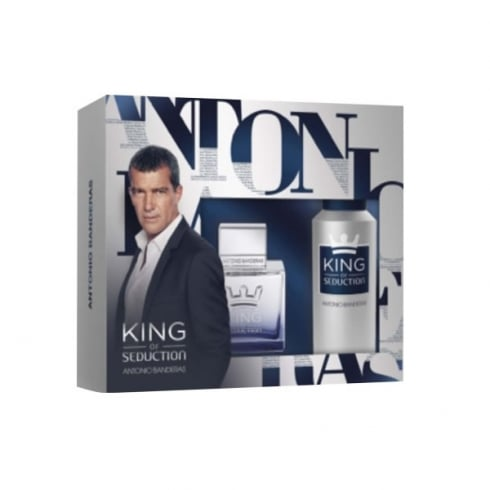 Antonio Banderas King Of Seduction EDT Spray 100ml Set 2 Piezas 2016