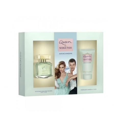 Antonio Banderas Queen Of Seduction EDT Spray 100ml Set 2 Pieces 2016