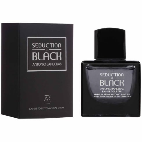 Antonio Banderas Seduction In Black 100ml EDT Spray