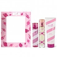 Aquolina Pink Sugar EDT 100ml & Bl 250ml & Hair Perfume 100ml