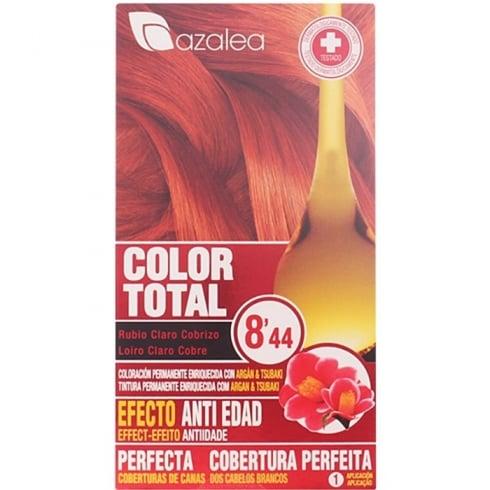 Azalea Color Total 8,44 Light Blond Hair Copper
