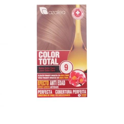 Azalea Color Total 9 Extra Light Blond Hair