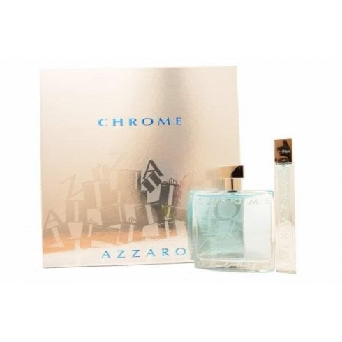 Azzaro CHROME EDT 100ML & EDT 15ML