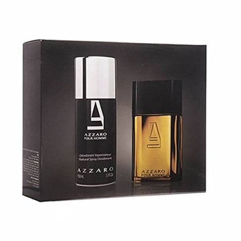 Azzaro Homme EDT 100ml & Deo Spray 150ml