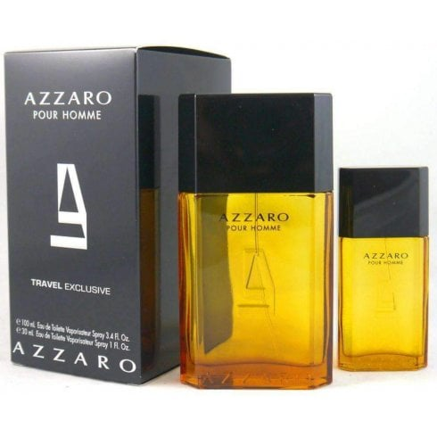 Azzaro Homme EDT 100ml & EDT 30ml Travel Exclusive
