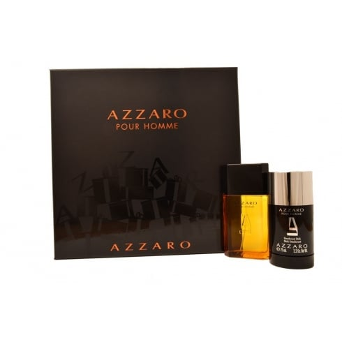 Azzaro Homme Gift Set - 50ml EDT + 75ml Deodorant Stick