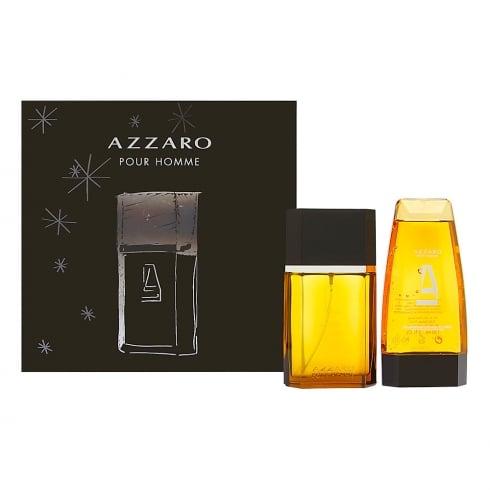 Azzaro Pour Homme 100ml EDT sPLASH + Hair and Body Shampoo 150ml