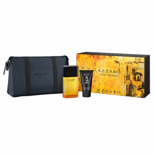 Azzaro Pour Homme EDT Spray 50ml Set 3 Pieces