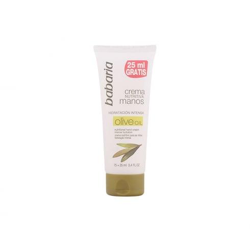 Babaria Aceite De Oliva Nourishing Hand Cream 75ml