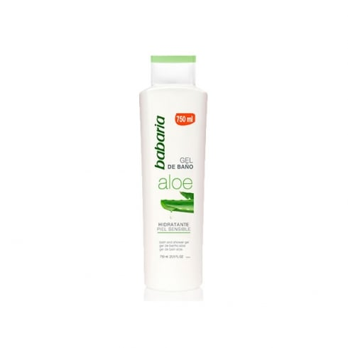 Babaria Aloe Vera Bath Gel Sensitive Skin 750ml