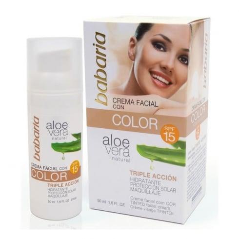 Babaria Aloe Vera Bb Cream SPF15 50ml