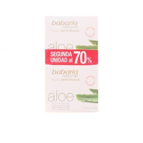Babaria Aloe Vera Cream Anti Wrinkle Set 2 Pieces