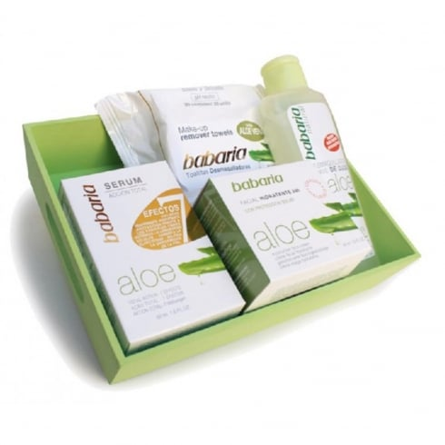 Babaria Aloe Vera Moisturizer Cream 50ml Set 4 Pieces
