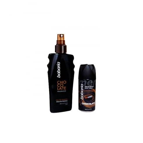 Babaria Chocolate For Men EDT Spray 200ml Set 2 Pieces