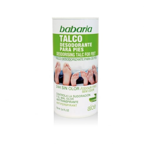 Babaria Deodorising Tal For Feet 100g
