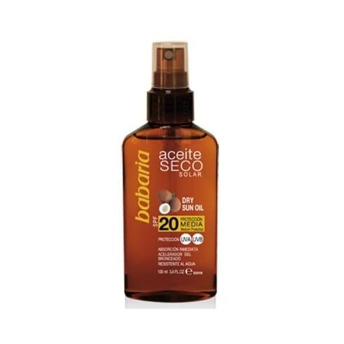 Babaria Dry Sun Oil SPF20 100ml