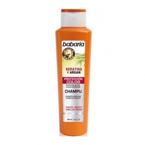 Babaria Keratina And Argan Protection Color Shampoo 400ml