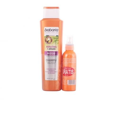 Babaria Keratina & Argan Shampoo Curly Hair 400ml