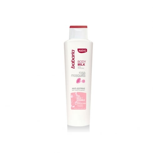 Babaria Rosa Mosqueta Anti StretCHmarks Body Milk 400ml