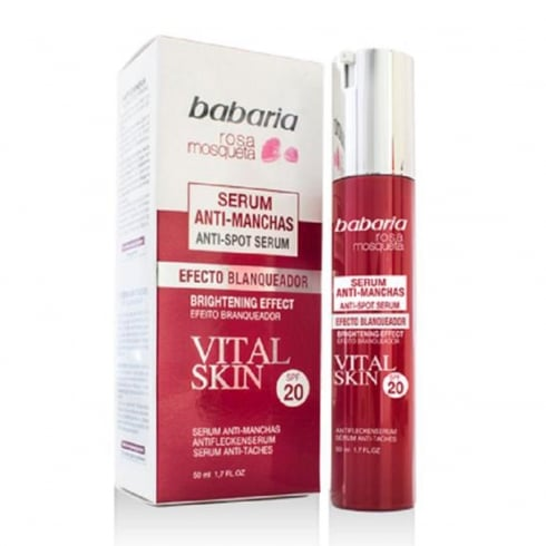 Babaria Rosa Mosqueta Serum Anti-Spot Serum Brightening Effect SPF50 50ml