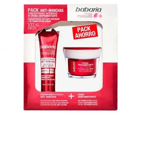 Babaria Rosa Mosqueta Vital Skin Depigmenting Set 2 Pieces