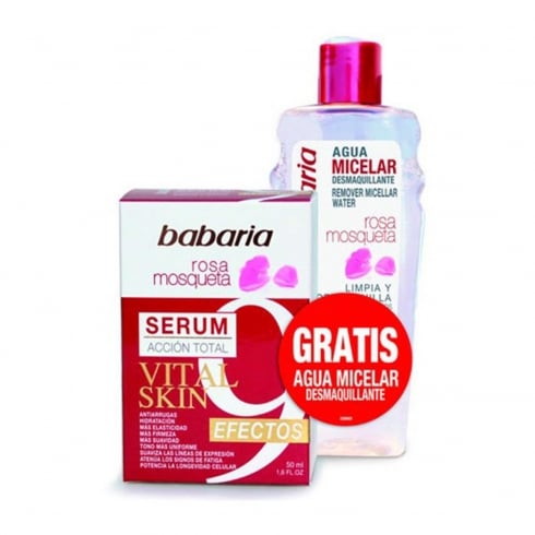 Babaria Rosa Mosqueta Vital Skin Serum 50ml Set 2 Pieces