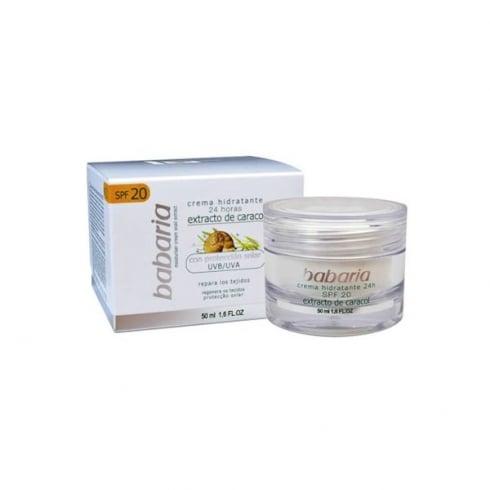Babaria Snail Extra Moisturising Cream SPF20 50ml