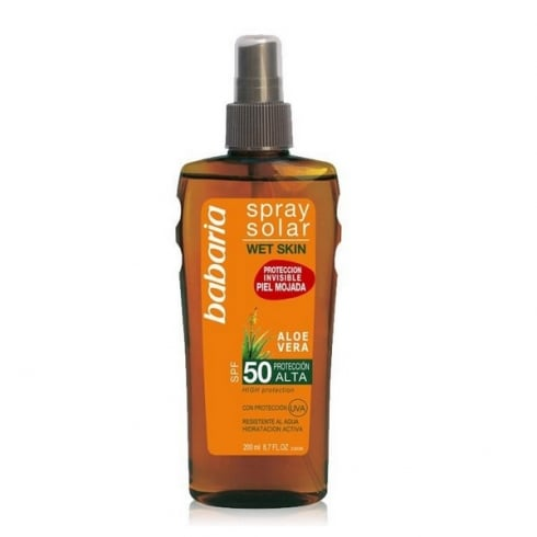 Babaria Solar Spray Wet Skin SPF50 200ml